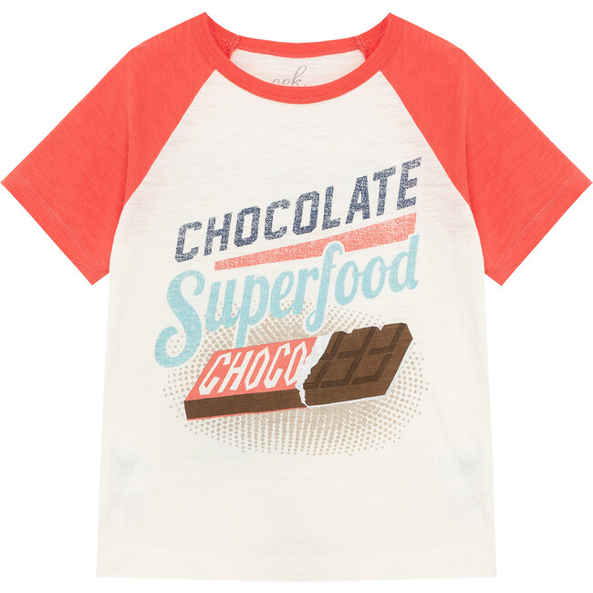 Chocolate Is The Answer Tee, Off-White