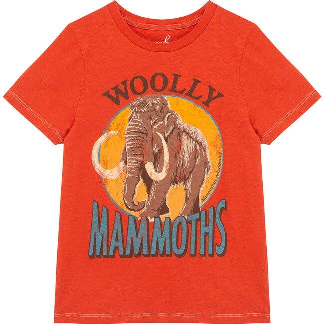 Woolly Mammoth Tee, Rust