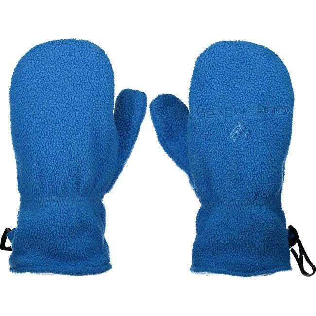 Finley Fleece Mitten, Blue Vibes