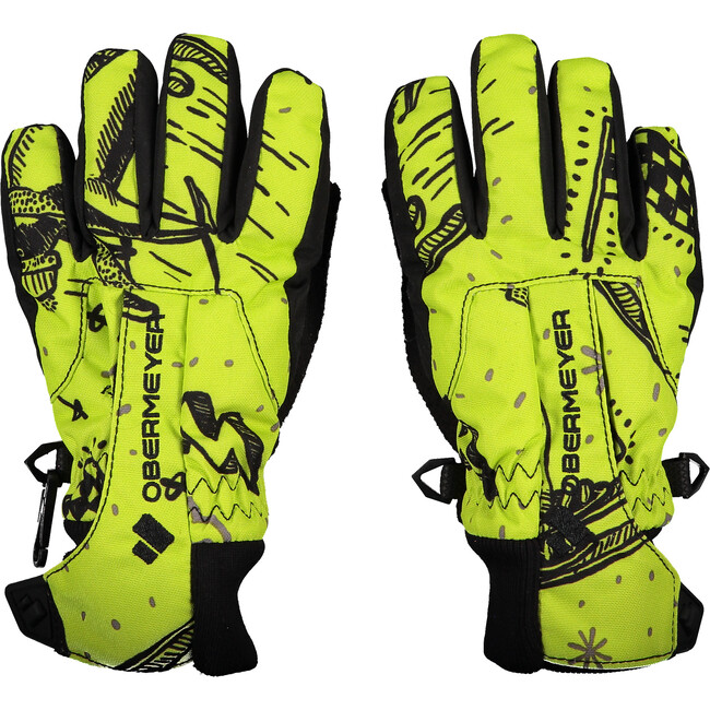 Thumbs Up Glove Print,Racer Birdz
