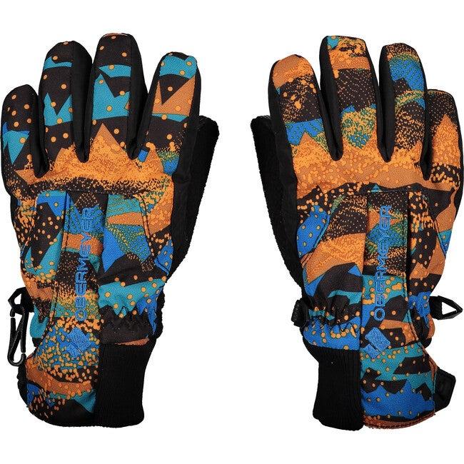 Thumbs Up Glove Print, Skylab Blue