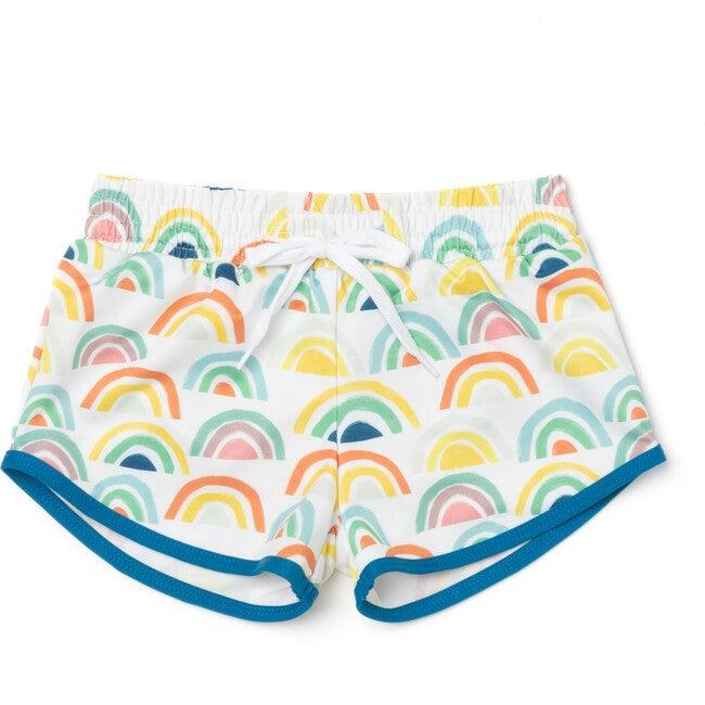 Drawstring Trunks, Sunny Rainbow