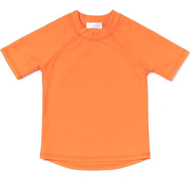 Short Sleeve Rashguard, Citrus