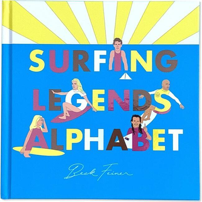Surfing Legends Alphabet