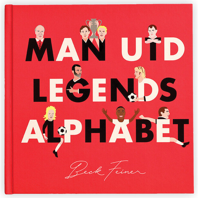 MAN UTD Legends Alphabet