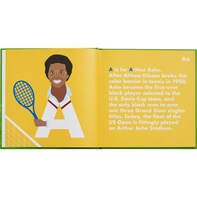 Tennis Legends Alphabet