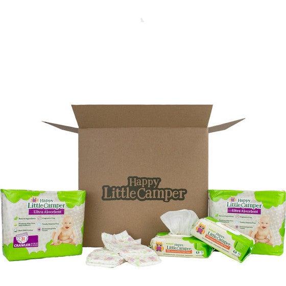 Diapers + Cotton Wet Wipes Bundle