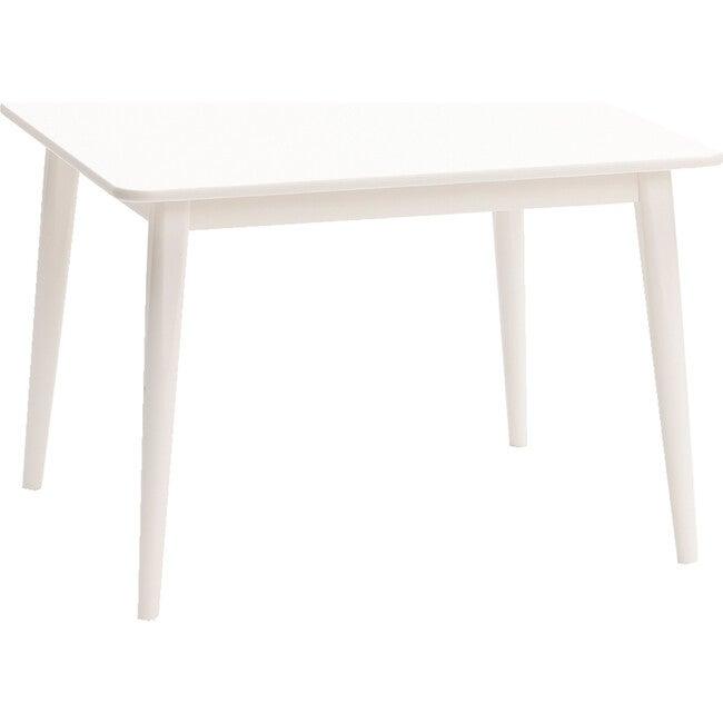 Crescent Table, White
