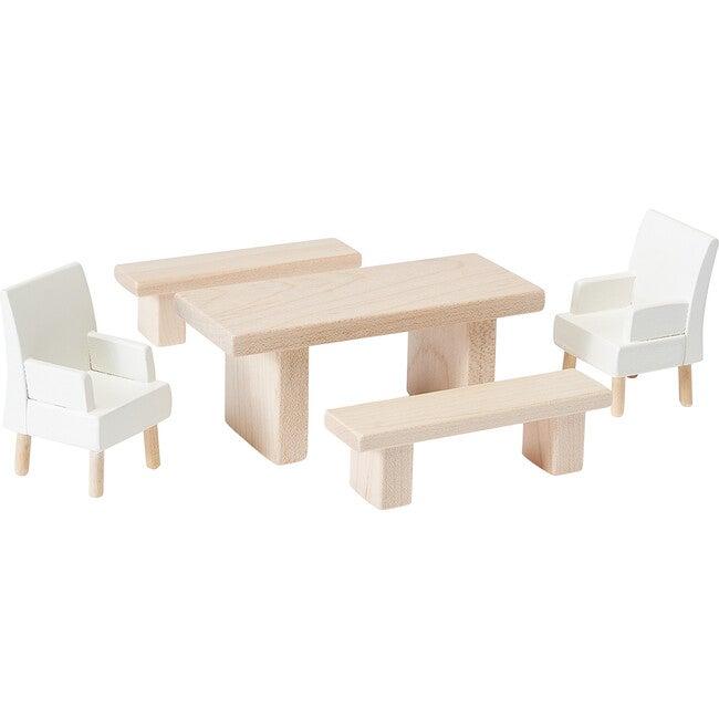 Dining Room Dollhouse Furniture Set - Dollhouses - 1