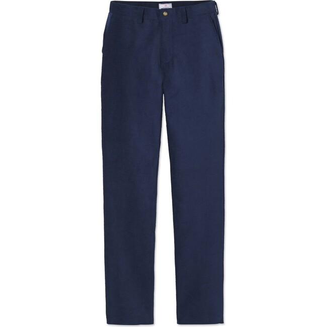 Mens Griffin Pant Horizontal Cord Pant, Medieval Blue - Pants - 1