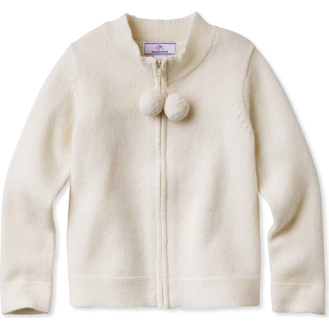 Pippa Pom Pom Sweater, Ivory