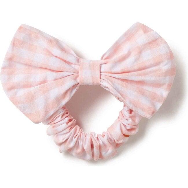 Scrunchie, Driftway Gingham Impatiens Pink