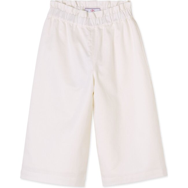 Lila Paperbag Pull On Pant, Cannoli Cream
