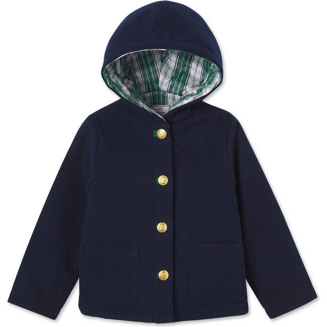 Aspen Hooded Jacket, Blue Ribbon