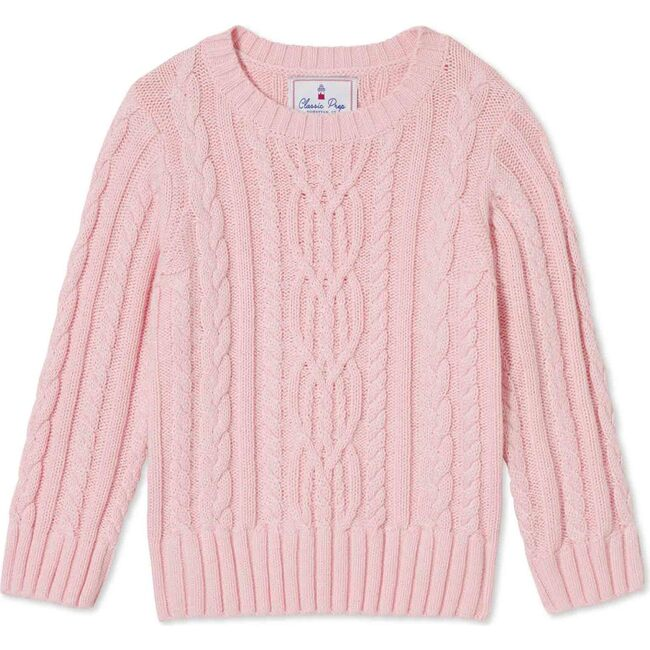 Fishers Cable Knit Sweater, Lilly's Pink