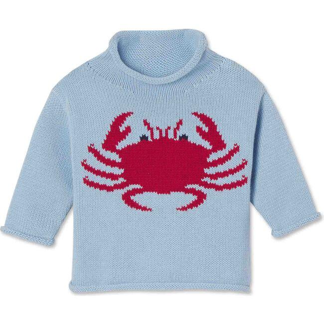Fraser Roll Neck Crab Intarsia, Skyride