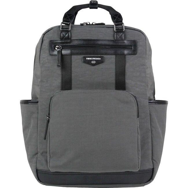 Unisex Courage Diaper Backpack, Grey
