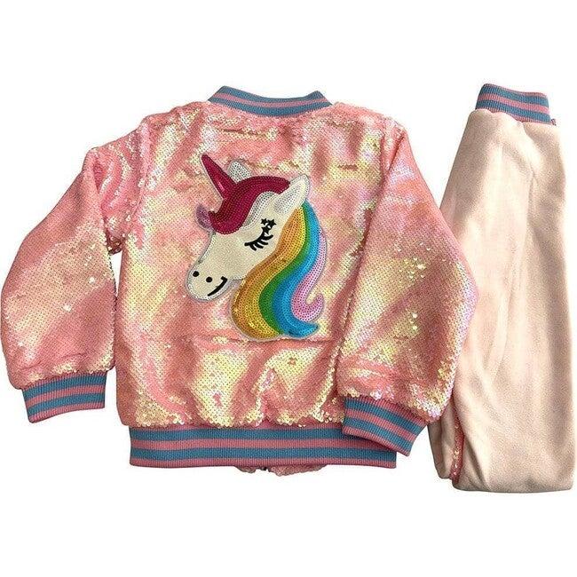 Unicorn Sequin Set, Pretty In Pink