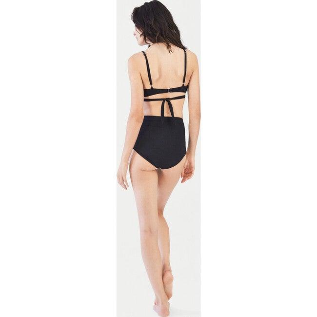 Women's Jojo Breastfeeding Bikini Top, Black