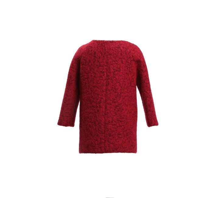 Wool Coat, Red