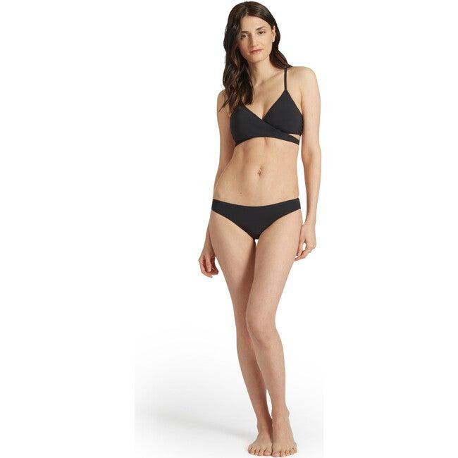 Poppy Bikini Bottom, Black