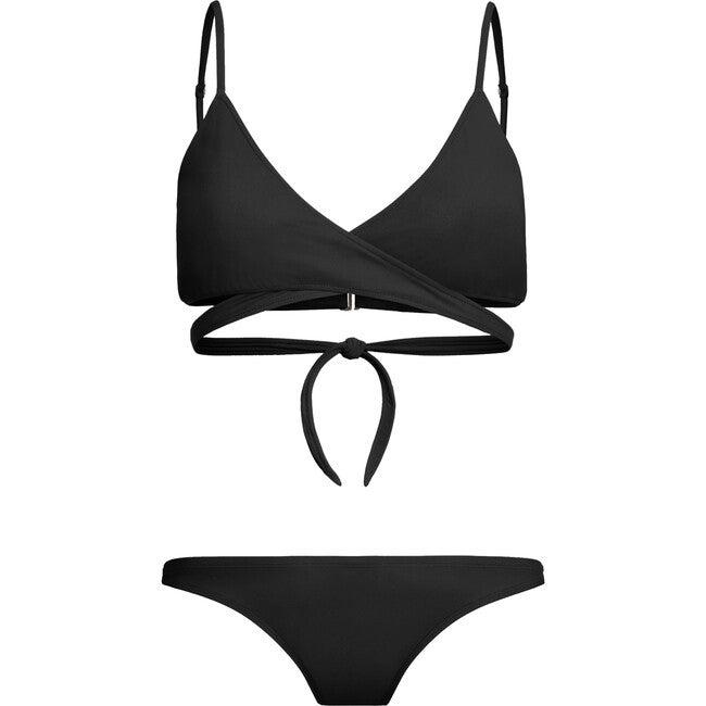 Jojo Breastfeeding Bikini Top, Black