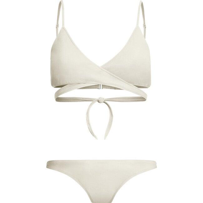 Jojo Breastfeeding Bikini Top, Pearl
