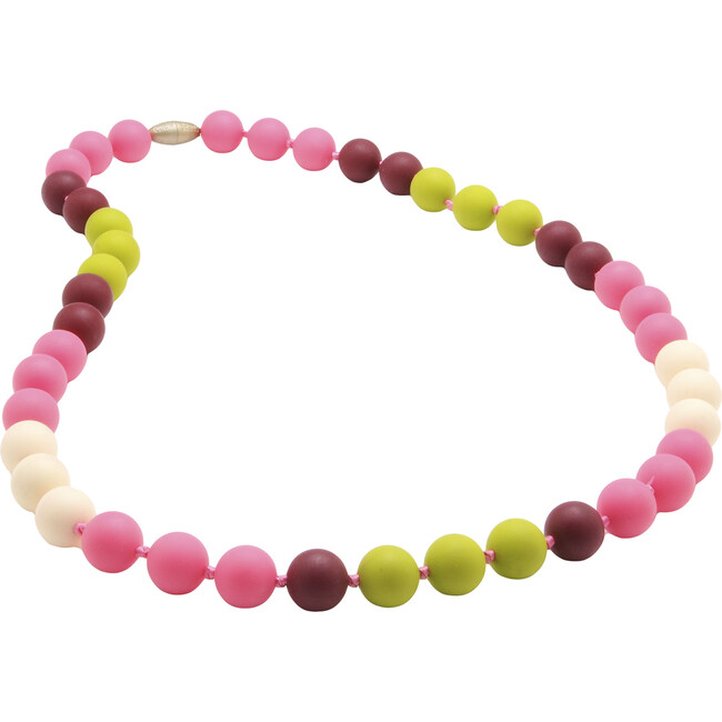 Bleecker Necklace, Punchy Pink
