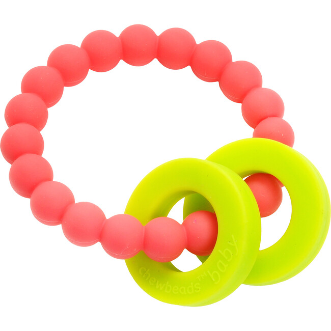 Mulberry Teether, Punchy Pink