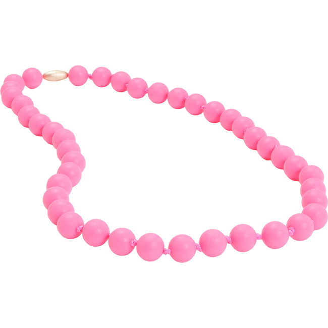 Jane Necklace, Punchy Pink - Teethers - 1