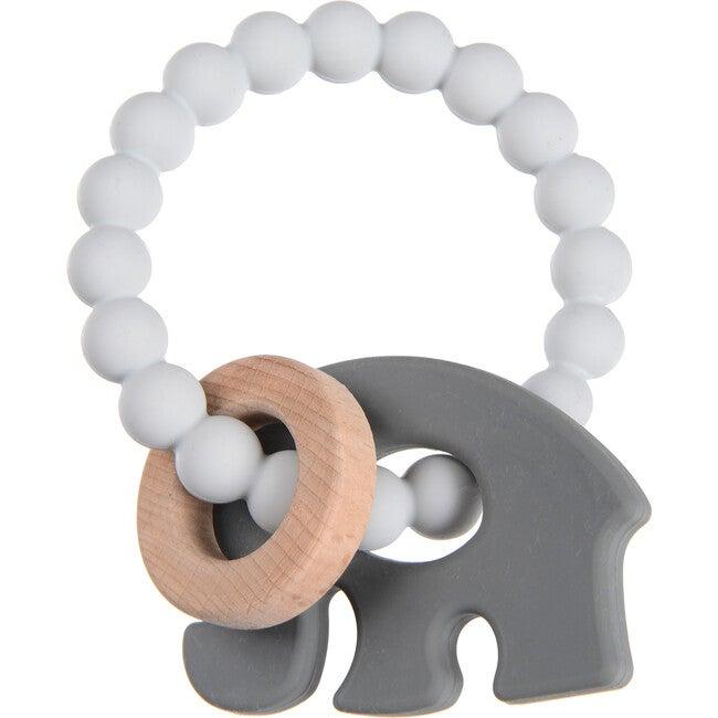 Brooklyn Teether, Grey Elephant - Teethers - 1