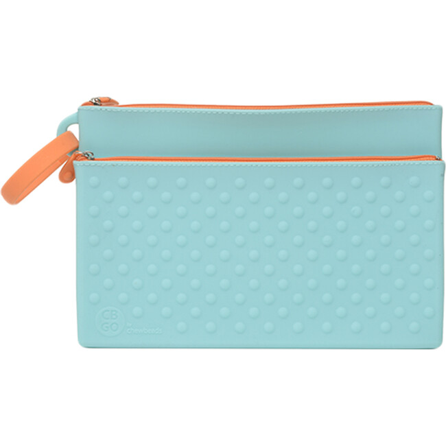 Silicone Wipes Case, Turquoise - Tabletop - 1