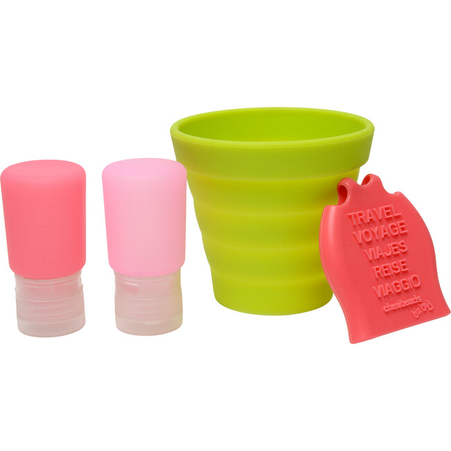 Tubby To Go Travel Bath Set, Pink