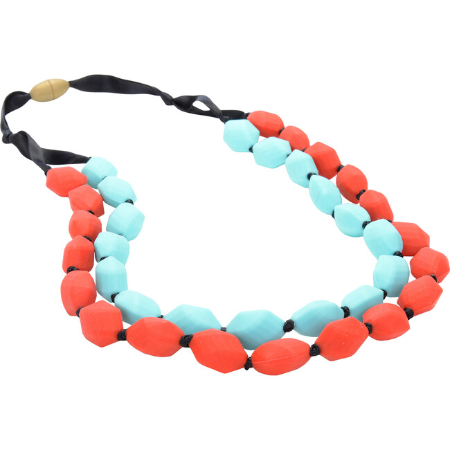 Astor Necklace, Cherry Red