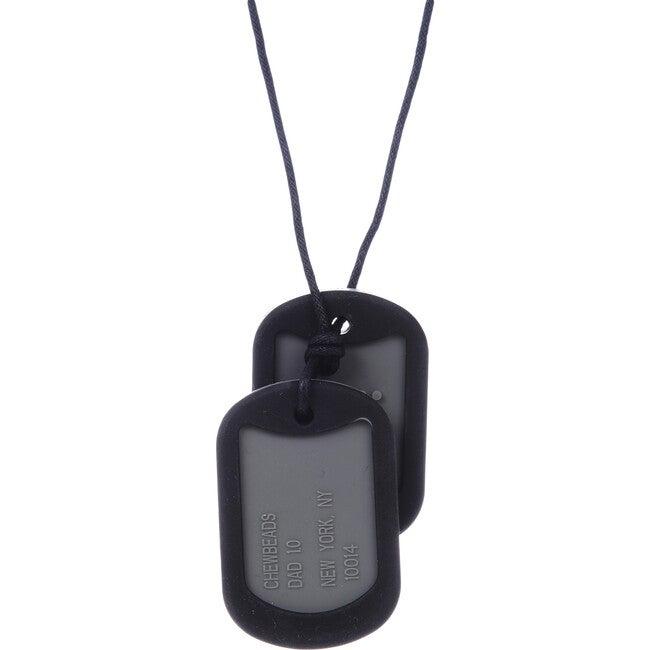 Military Tags, Black/Grey