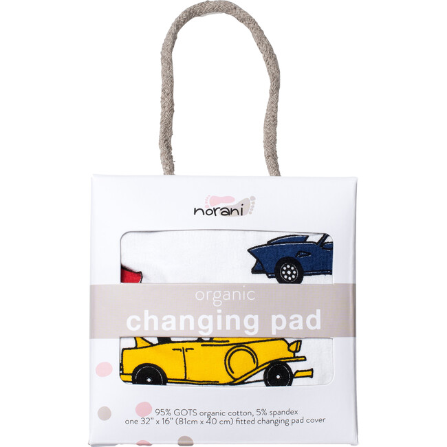 Norani Changing Pad Cover, Colorful Cars