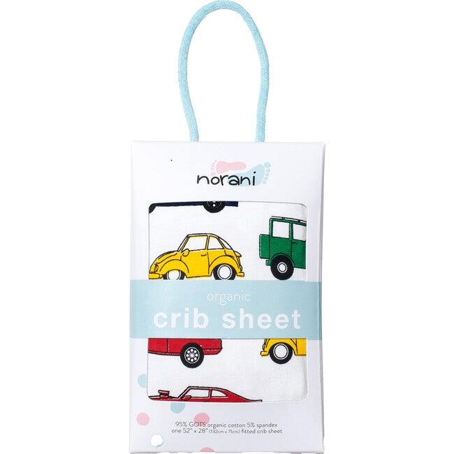 Norani Crib Sheet, Colorful Cars