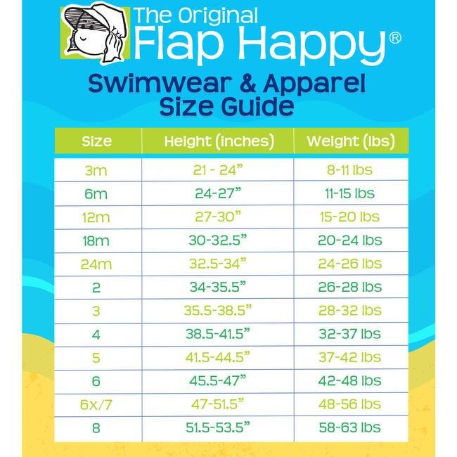 UPF 50 Wesley Swim Trunks with Mesh Liner, Something's Fishy