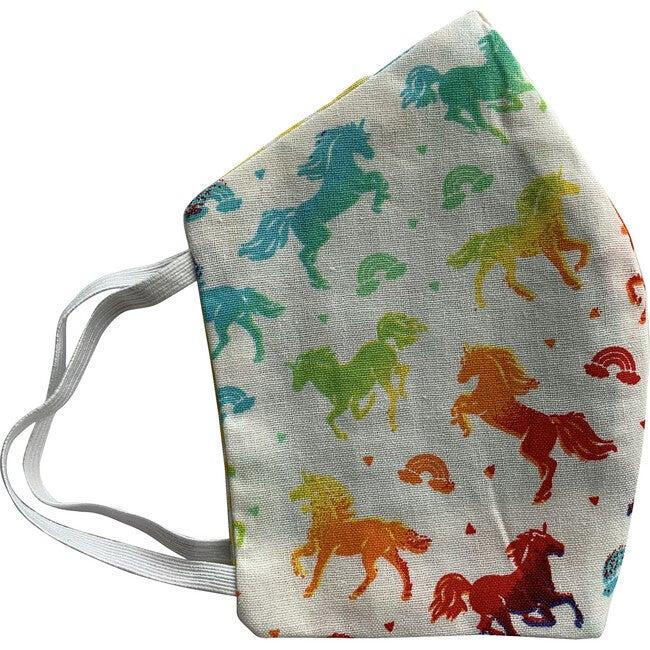 Kids Unicorn and Rainbows Facemasks Bundle of 3, Rainbow