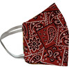 Kids Country Western Facemasks Bundle of 3, Red - Face Masks - 4