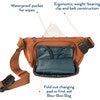 Kibou, Charcoal - Diaper Bags - 8