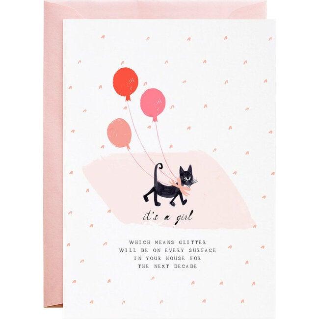 One Sweet Kitten Congratulations Card