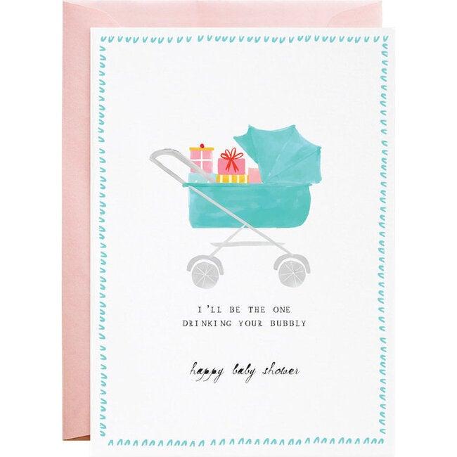 Presents In the Pram Card