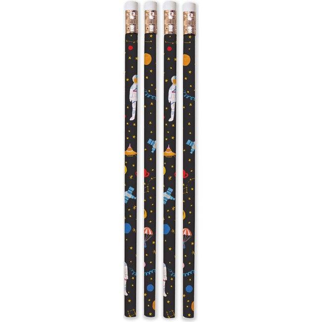 Set of 8 Where Is Jupiter? Pencils