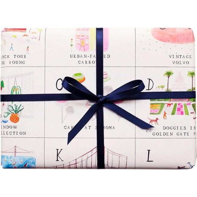 San Francisco ABC Gift Wrap Set