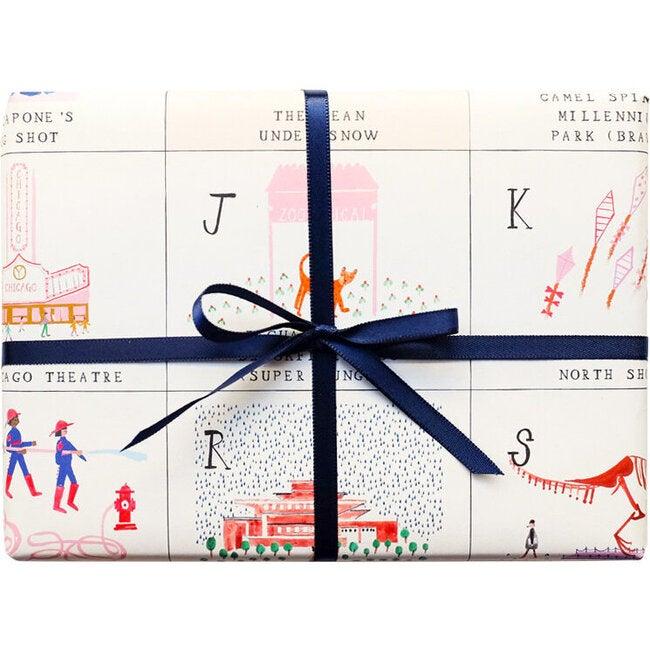 Chicago ABC Gift Wrap Set