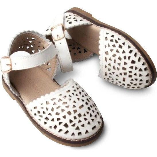Leather Pocket Sandal, Cotton