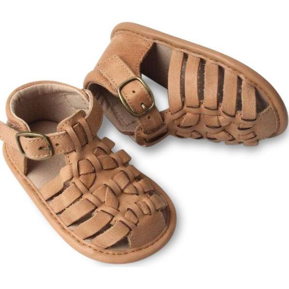 Leather Indie Sandal, Sand