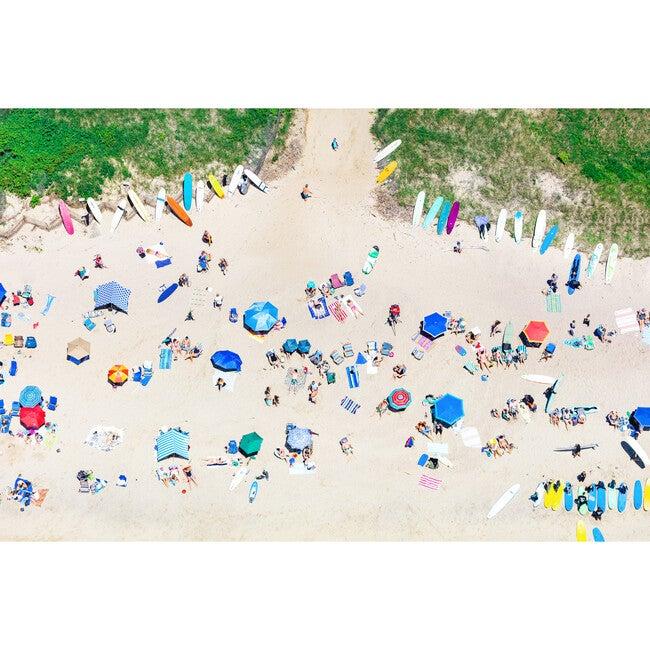 Ditch Plains Beach Umbrellas, Montauk