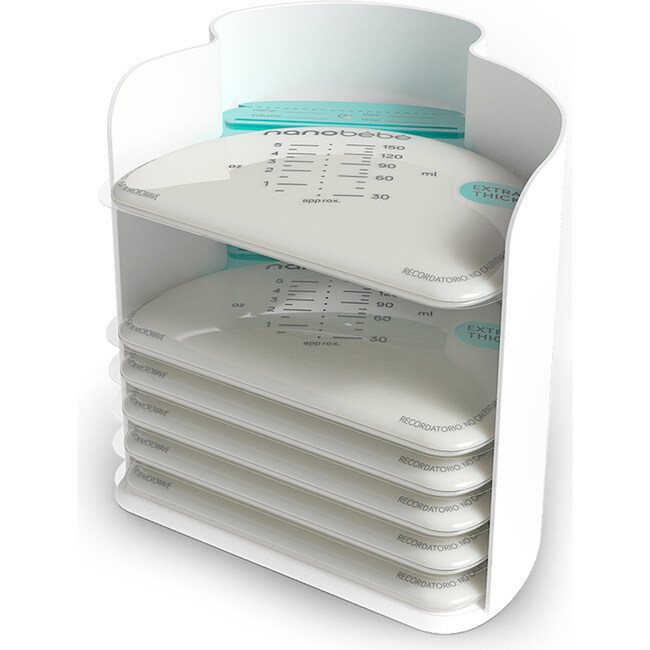 Breastmilk Storage Bags with Organizer, 25 Count - Breast Pumps - 1
